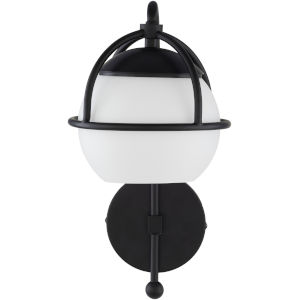Edmund Black 7-Inch One-Light Wall Sconce