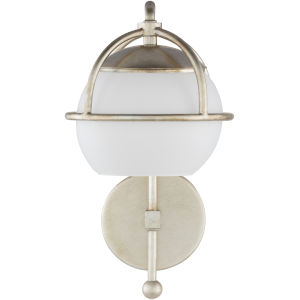 Edmund Off-White 7-Inch One-Light Wall Sconce