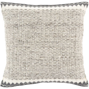 Faroe Ivory 18-Inch Pillow With Down Fill