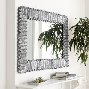 Ferrous Silver Wall Mirror