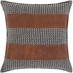 Fiona Camel 20-Inch Throw Pillow