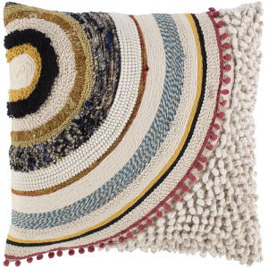 Fleetwood Multi-Color 20-Inch Throw Pillow