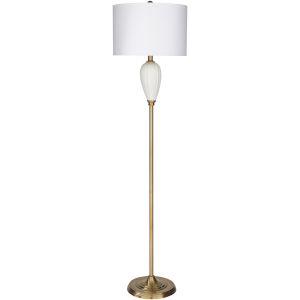 Goswell Gold One-Light Floor Lamp