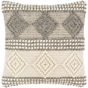 Hygge Ivory 20-Inch Throw Pillow