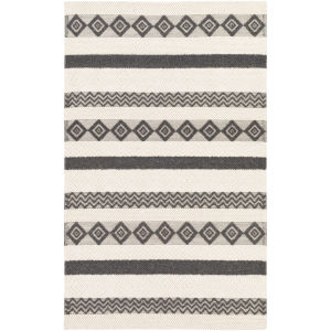 Hygge Black Rectangular: 6 Ft. X 9 Ft. Rug