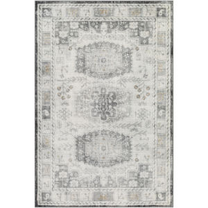 Indigo Taupe and Charcoal Rectangular: 7 Ft. 10 In. x 10 Ft. 2 In. Rug