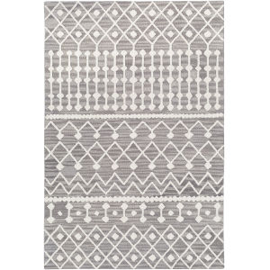 Izmir Charcoal Rectangle 5 Ft. x 7 Ft. 6 In. Rug