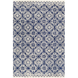 Izmir Navy Rectangle 6 Ft. x 9 Ft. Rugs
