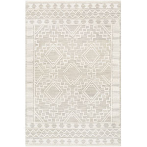 Izmir Ivory Diamond Rectangle 6 Ft. x 9 Ft. Rugs