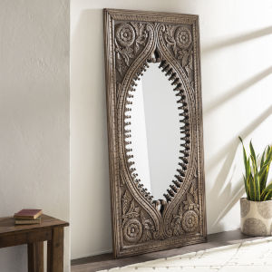 Jodhpur Natural Full Length Floor Mirror