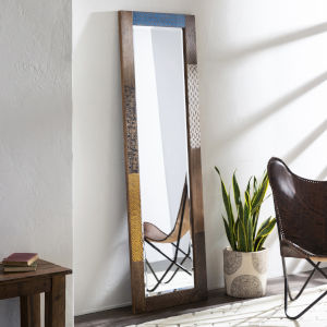 Kaylana Tan Full Length Floor Mirror