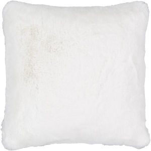 Lapalapa White 20-Inch Pillow With Polyester Fill