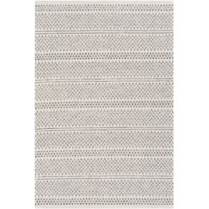 La Casa Charcoal Rectangle 5 Ft. 3 In. x 7 Ft. 3 In. Rugs