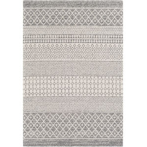 La Casa Silver Gray Rectangle 6 Ft. 7 In. x 9 Ft. Rug