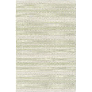 La Casa Green Rectangle 6 Ft. 7 In. x 9 Ft. Rug