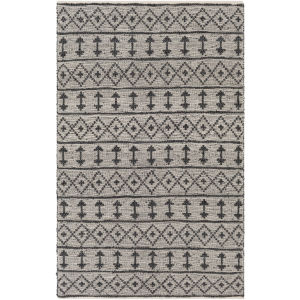Lexington Khaki and Black Rectangular: 8 Ft. x 10 Ft. Rug