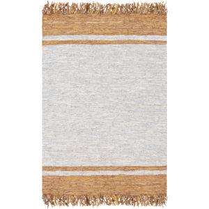 Lexington Camel, Light Gray and Wheat Rectangular: 8 Ft. x 10 Ft. Rug