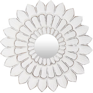 Maneka White 15-Inch Wall Mirror