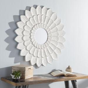 Maneka White 36-Inch Wall Mirror