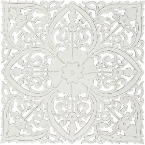 Mehr White 35-Inch Wall Art