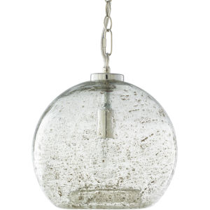 Mist Gray 11-Inch One-Light Pendant