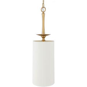 Malani White One-Light Mini Pendant