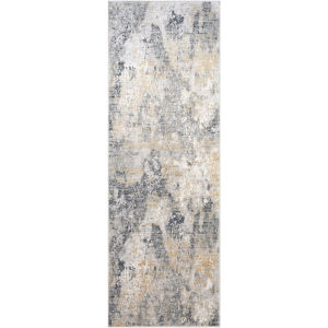 Milano Charcoal Runner: 2 Ft. 7 In X 7 Ft. 7 In Rug