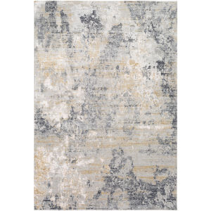 Milano Charcoal Rectangular: 6 Ft. 9 In X 9 Ft. 6 In Rug