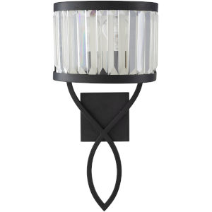 Maynard Black 10-Inch One-Light Wall Sconce