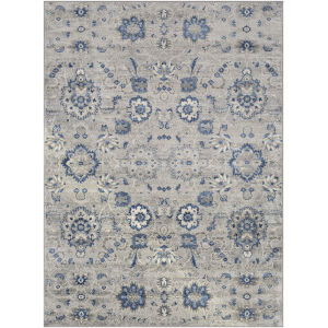Monaco Medium Gray Rectangle 4 Ft. 3 In. x 5 Ft. 11 In. Rugs