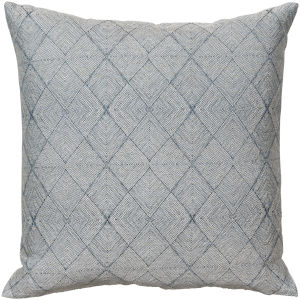 Messina Teal 22-Inch Pillow With Polyester Fill