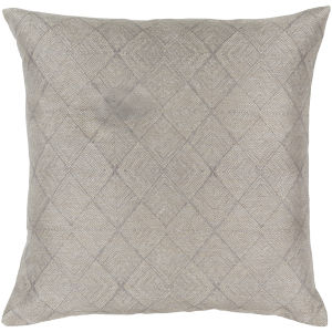 Messina Champagne 18-Inch Pillow With Polyester Fill