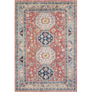 Murat Red Rectangle 7 Ft. 10 In. x 10 Ft. Rug