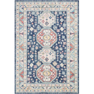 Murat Navy Rectangle 6 Ft. 7 In. x 9 Ft. Rug