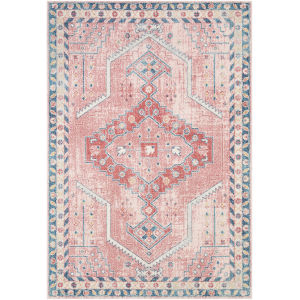 Murat Coral Rectangle 6 Ft. 7 In. x 9 Ft. Rug