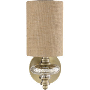 Nellie Gold 6-Inch One-Light Wall Sconce