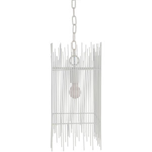 Natasha White One-Light Mini Pendant