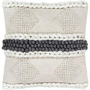 Anton Khaki 22-Inch Pillow Cover