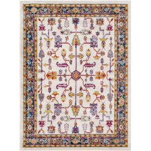 Norwich Bright Red Rectangle 7 Ft. 10 In. x 10 Ft. 3 In. Rugs