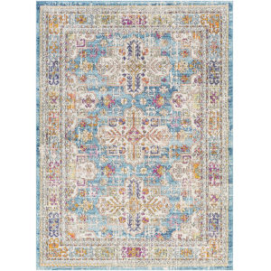 Norwich Aqua Rectangle 7 Ft. 10 In. x 10 Ft. 3 In. Rug