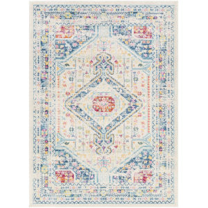 Norwich Light Blue Rectangle 6 Ft. 7 In. x 9 Ft. Rug