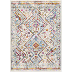 Norwich Multi Color Rectangle 6 Ft. 7 In. x 9 Ft. Rugs