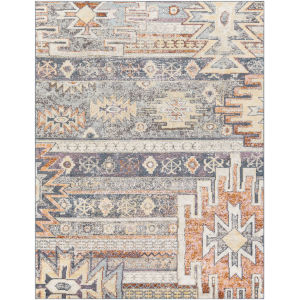 New Mexico Medium Gray Rectangle 7 Ft. 10 In. x 10 Ft. 3 In. Rugs