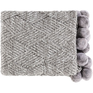 Odella Charcoal Throw