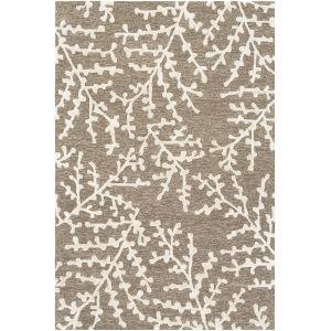 Opus Dark Brown Rectangle 6 Ft. x 9 Ft. Rugs
