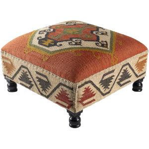 Panja Brick Ottoman