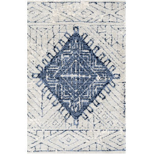 Padma Denim Rectangle 3 Ft. 6 In. x 5 Ft. 6 In. Rugs