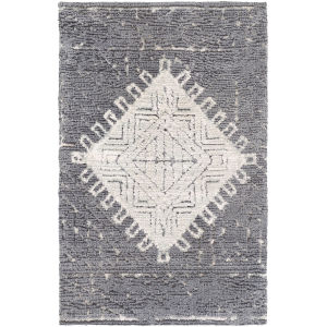 Padma Charcoal Rectangle 3 Ft. 6 In. x 5 Ft. 6 In. Rugs