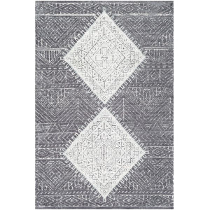 Padma Charcoal Rectangle 5 Ft. x 7 Ft. 6 In. Rugs