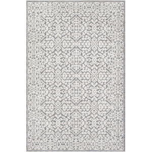 Ariana Medium Gray Rectangle 6 Ft. 7 In. x 9 Ft. Rug